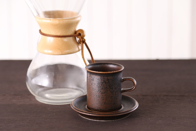 コーヒーのドリップ