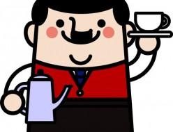 喫茶店のマスター